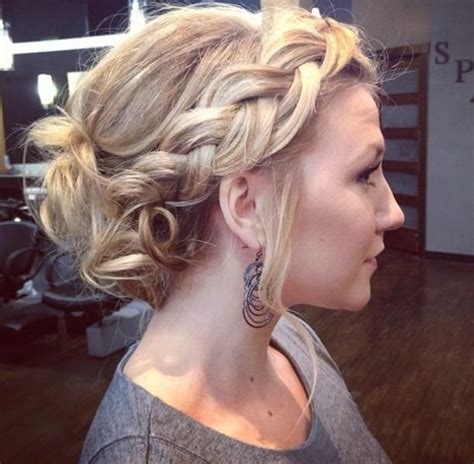 hairstyles with loose curls and braids 40 hairstyles for prom night with braids and curls