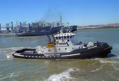 file san francisco harbor tug delta deanna in suisun bay - Tugboat Bay
