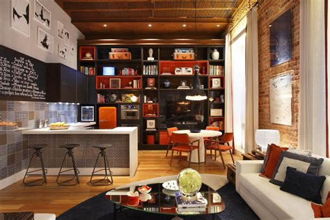 open plan loft  whimsical decor idesignarch