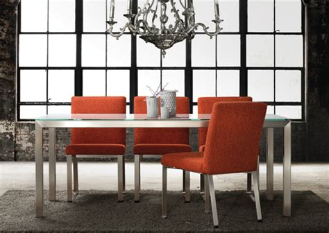 frosted glass top modern dining table dining tables