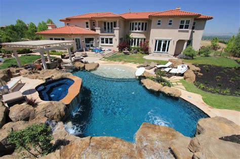 swimming pool in backyard top ten list of epic backyard swimming pools