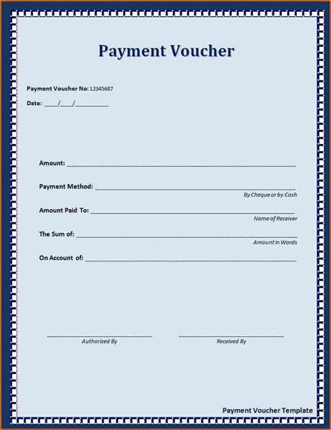 Paid In Loan Receipt Template Free by Click On The Button To Get This Payment Voucher