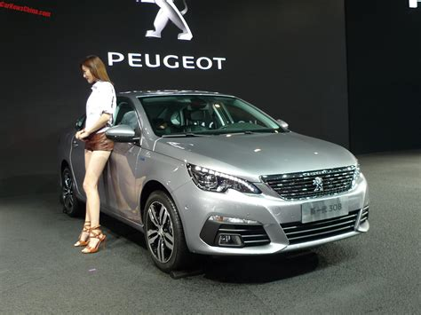 new peugeot sedan new peugeot 308 sedan launched on the chengdu auto show
