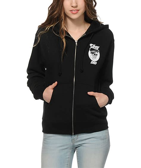 Hoodiezipper Obey obey devious scumbag zip up hoodie