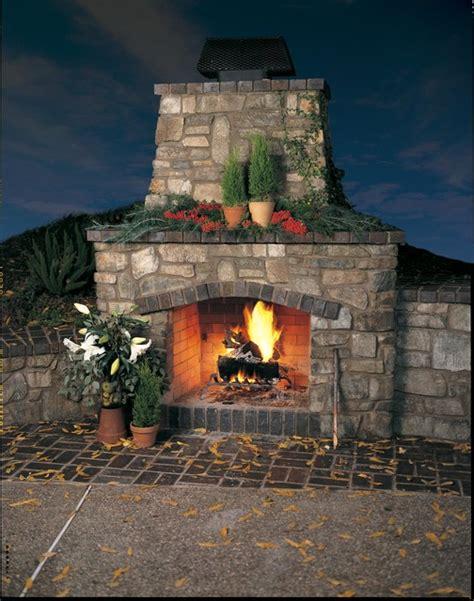 eldorado outdoor fireplace rustic outdoor fireplace
