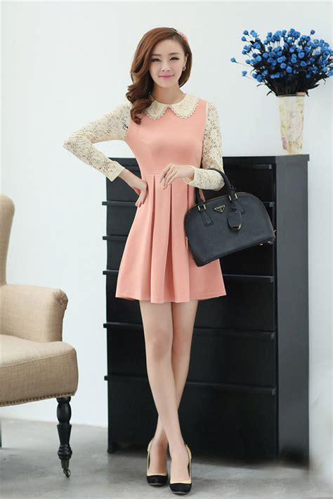 Jfashion Korean Style Bodycon Dress Quinn s casual fashion dress wallpaper