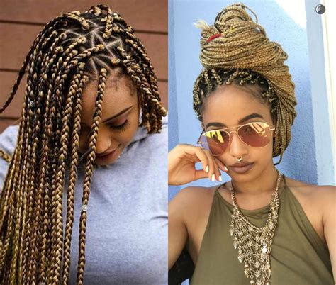 Box Braid Hairstyles Pictures by Jumbo Box Braids Amazing Term Protective Style