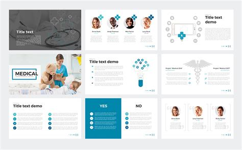 theme powerpoint hospital medical powerpoint template 65790