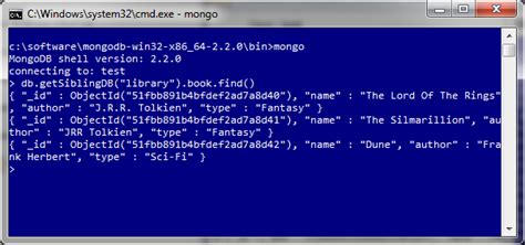 mongo console dispatches from the codeface mongodb in 3 easy steps