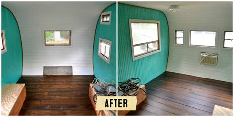 Junk Gypsy Home Decor redoing a vintage camper bungalow 47 style bungalow 47