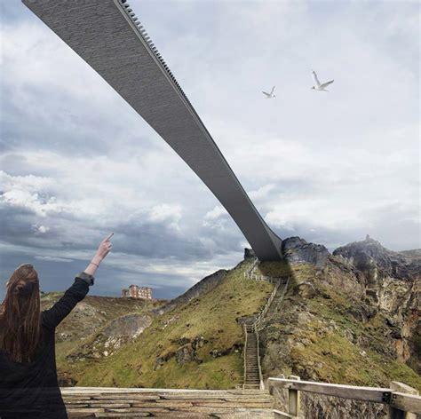 design competition bridge shortlist unveiled for tintagel bridge competition