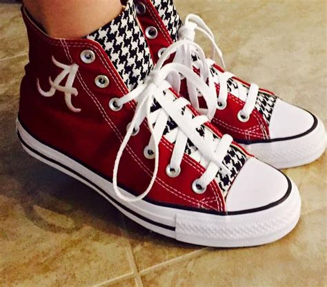 alabama converse shoes customized converse sneakers bama special edition