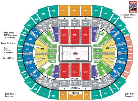 phillips arena ga floor ga1 seating charts insidearenas