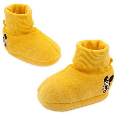 mickey mouse shoe slippers mickey mouse yellow slippers soft shoes infant 0 24m