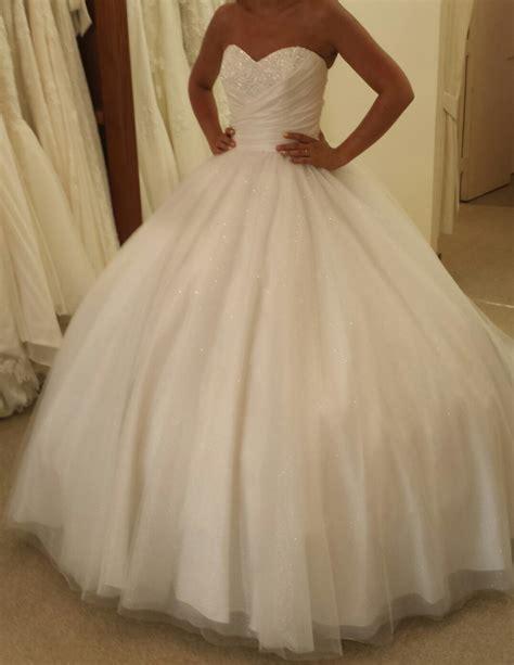 My big poofy alfred angelo cinderella 205 wedding dress!!!!