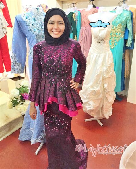 Baju Kahwin Jihan Muse cubaan baju pengantin di temerloh butik pengantin