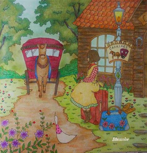 libro romantic country the third book romantic country the third tale romanticcountry eriy coloring coloringbook