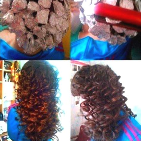 where to place your foils in hair aluminum foil curls all you need is aluminum foil