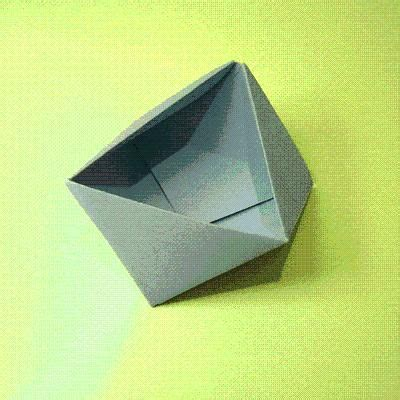 Origami Triangle Box - diy origami triangle box diy origami diy craft diy