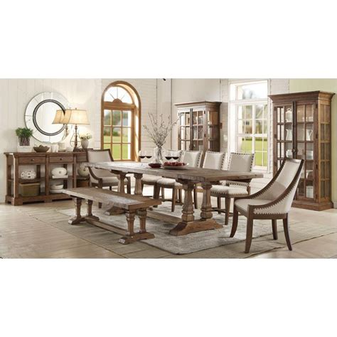 23652 riverside furniture hawthorne rectangular dining table