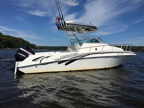 fountain sportfish boats for sale fountain sportfish boat for sale from usa