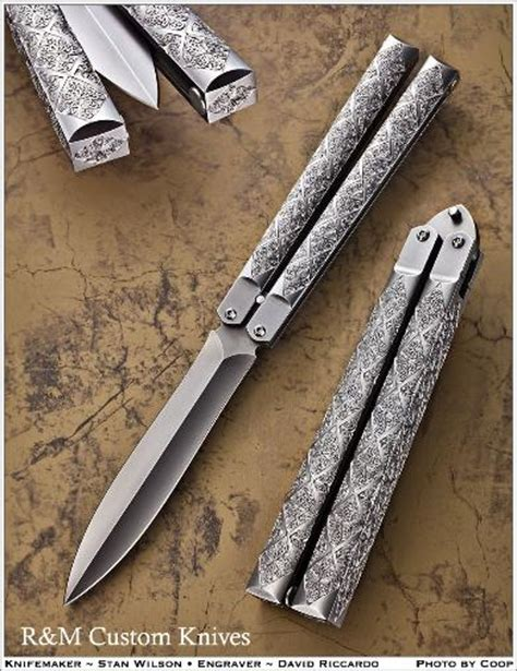 by artist r m custom knives david riccardo r m custom knives