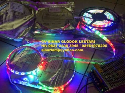 Hiled Running Rgb Module 3 Mata aneka lu advertising dan back light