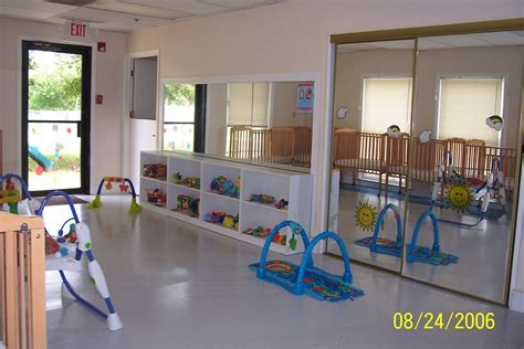 infant room preschool daycare child care learning center in middle by s sandbox