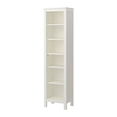 narrow bookshelves ikea hemnes bookcase white ikea nursery ideas