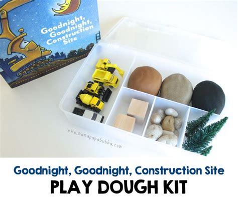 Goodnight Construction Box Set goodnight goodnight construction site play dough kit playdough play ideas