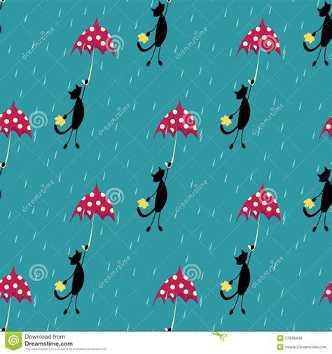 umbrella fly pattern umbrella fly sky seamless pattern cartoon vector