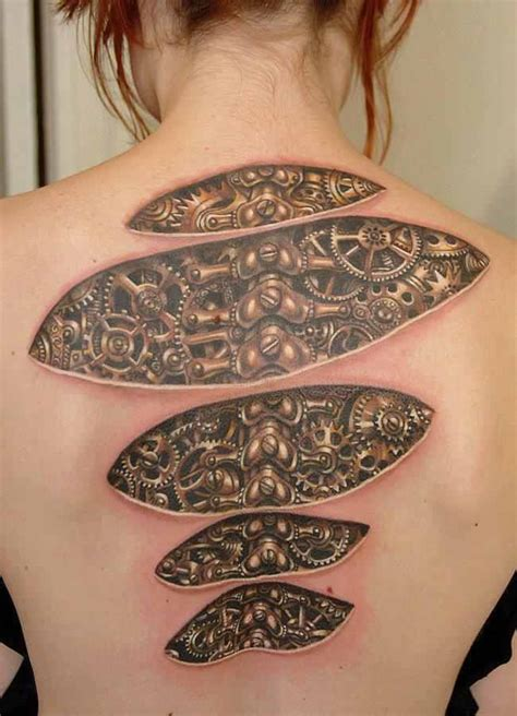 biomechanical 3d design of tattoosdesign of tattoos