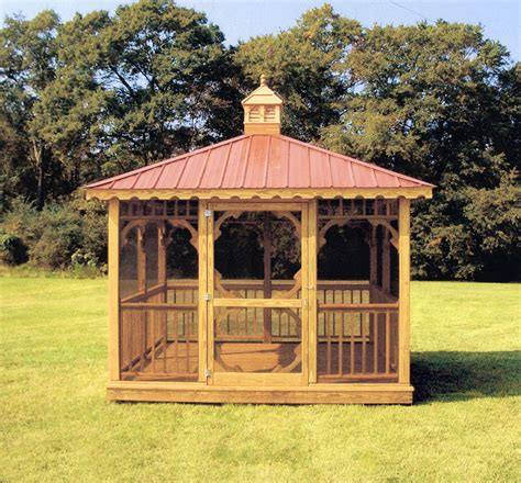 10x10 Gazebo 10 X 10 Square Gazebo 10sq 05 Yoder Country Gazebos
