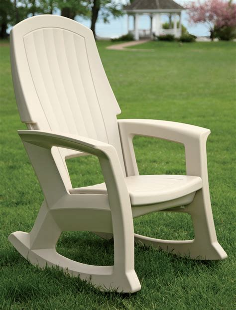 Front Patio Chairs Plastic Outdoor Rocking Chairs Modern Patio Outdoor
