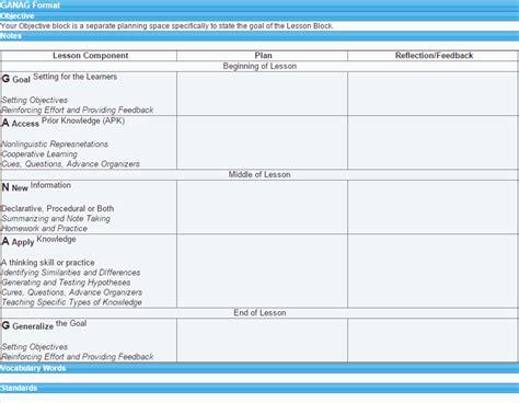 21st century lesson plan template my lesson planner lesson plan exles