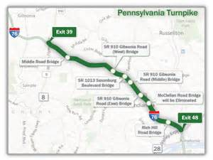 Ohio Turnpike Map by Pa Turnpike Mile Markers Motorcycle Review And Galleries