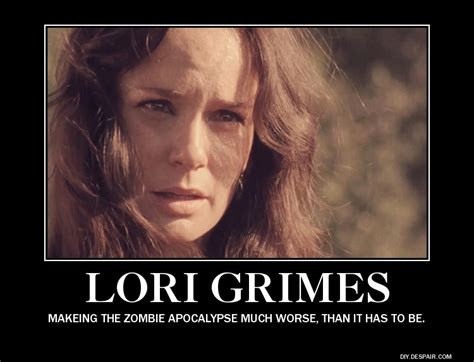 walking dead lori meme