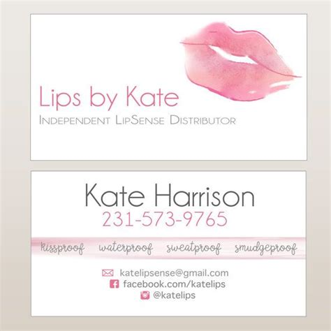lipsense business card template free best 20 lipsense business cards ideas on