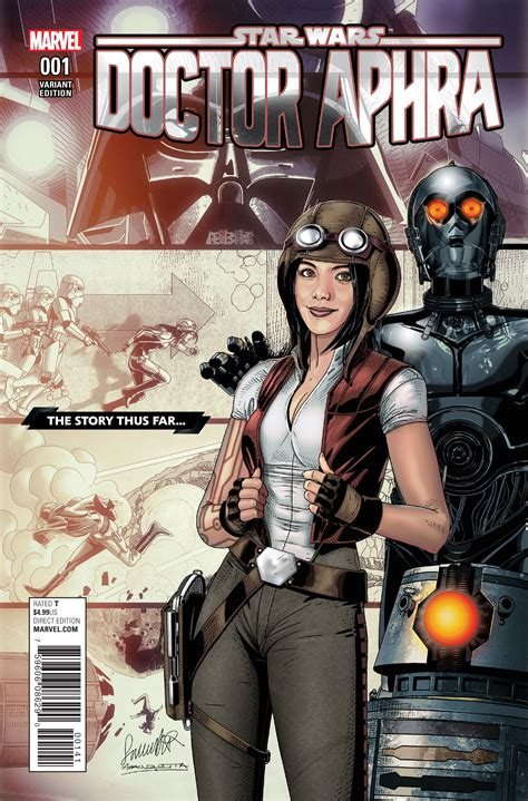 libro star wars doctor aphra preview doctor aphra 1 comic vine