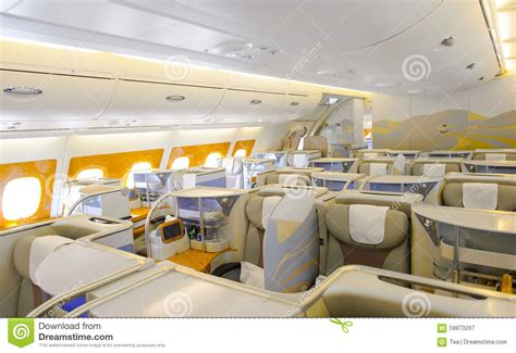 airbus a380 interni emirates airbus a380 interior editorial photography