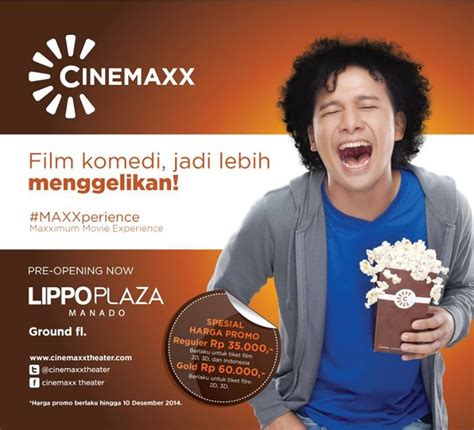 cinemaxx gold manado cinemaxx lippo plaza manado