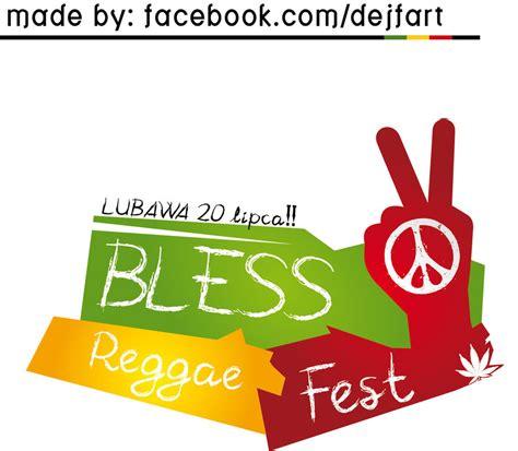 design logo reggae bless reggae fest logo by dejfik on deviantart