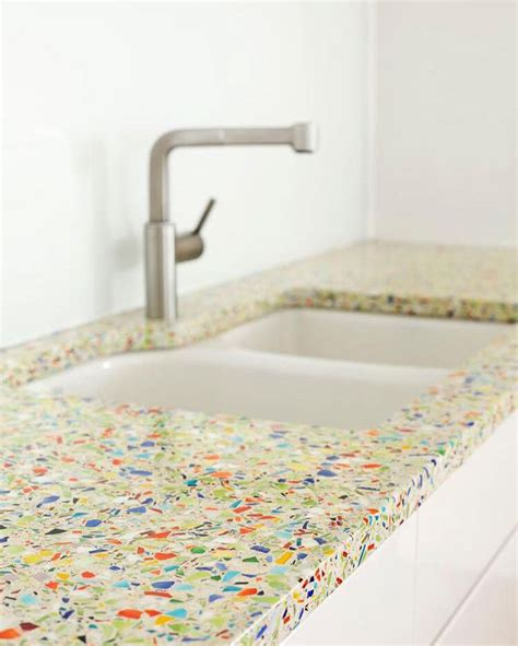 Recycled Glass Countertops Houston by Best 25 Recycled Glass Countertops Ideas On