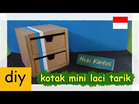 Kotak Serbaguna Purple 5 Laci cara membuat kotak mini laci tarik dari kardus