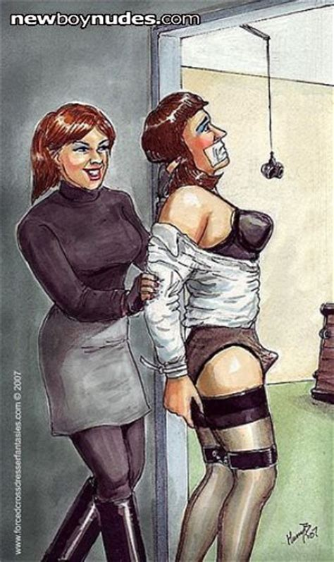 forced womanhood gallery art forced feminization bondage sissimaids pinterest