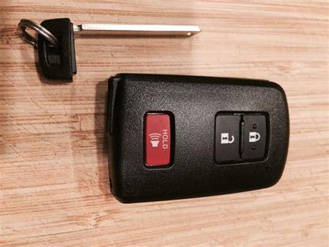 Toyota Tacoma Key Fob Replacement Smart Key Fob Pics Tacoma World