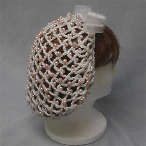 free knitting pattern hair net crocheted snood patterns crochet and knitting patterns