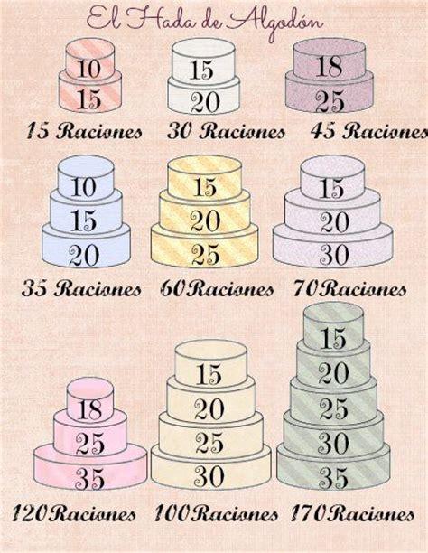 medidas de pasteles 62 best images about porciones y medidas pasteles on