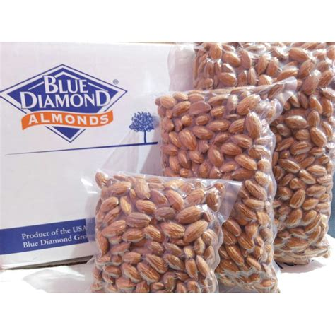 almond roasted premium kacang almond panggang matang