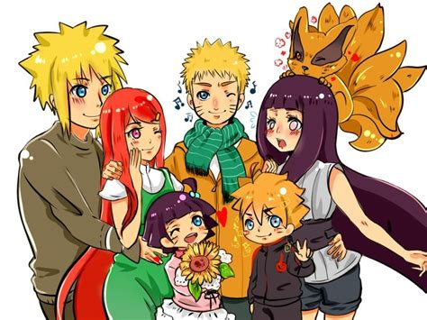 boruto family all together now uzumaki naruto hyuga hinata naruhina